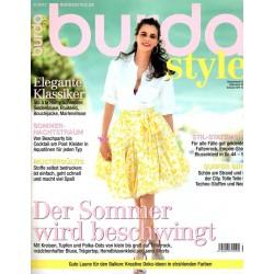 burda Moden 6/Juni 2013 - Der Sommer wird beschwingt