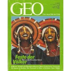 Geo Nr. 11 / November 1992 - Feste der Völker