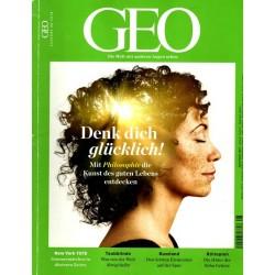 Geo Nr. 8 / August 2018 - Denk dich glücklich!