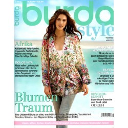 burda Moden 5/Mai 2015 - Blumen Traum