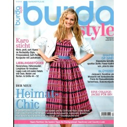 burda Moden 9/September 2014 - Heimat Chic