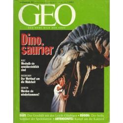 Geo Nr. 9 / September 1993 - Dinosaurier