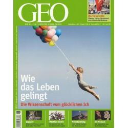 Geo Nr. 6 / Juni 2011 - Wie das Leben gelingt