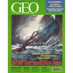 Geo Nr. 5 / Mai 1997 - Auf der Spur mysteriöser Arten