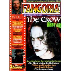 Fangoria Nr.5/94 Nov/Dez 1994 - The Crow hebt ab!