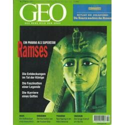 Geo Nr. 2 / Februar 1999 - Ein Pharao als Superstar Ramses