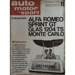 auto motor & sport Heft 11 / 30 Mai 1964 - Greyhound