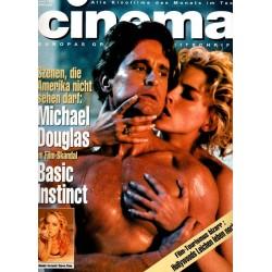 CINEMA 6/92 Juni 1992 - Basic Instinct