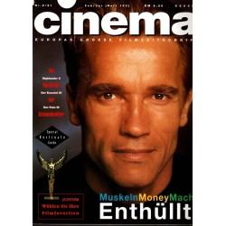 CINEMA 2/91 Februar 1991 - Arnold Schwarzenegger enthüllt