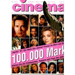 CINEMA 12/91 Dezember 1991 - Jupiter 1991