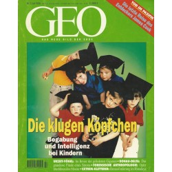 Geo Nr. 7 / Juli 1996 - Die klugen Köpfchen
