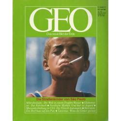 Geo Nr. 6 / Juni 1985 - Die Straßenkinder von Sao Paulo