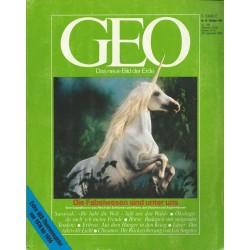 Geo Nr. 10 / Oktober 1986 - Die Fabelwesen sind unter uns