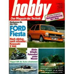 Hobby Nr.14 / 30 Juni 1976 - Ford Fiesta