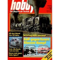 Hobby Nr.22 / 27 Oktober 1980 - Winter unter Dampf