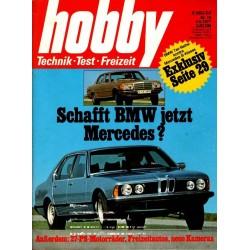 Hobby Nr.10 / 4 Mai 1977 - BMW & Mercedes