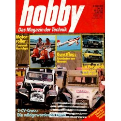 Hobby Nr.16 / 28 Juli 1976 - 2 CV Cross