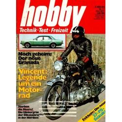 Hobby Nr.11 / 18 Mai 1977 - Vincent