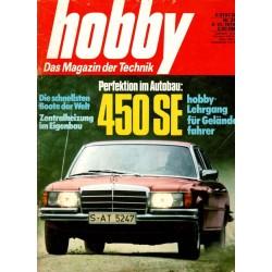 Hobby Nr.21 / 9 Oktober 1974 - Mercedes 450 SE