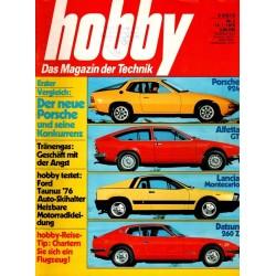 Hobby Nr.2 / 14 Januar 1976 - Porsche & seine Konkurrenz