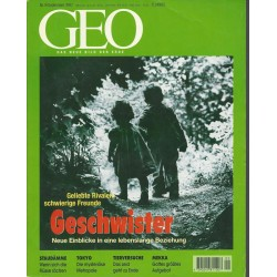 Geo Nr. 9 / September 1997 - Geschwister
