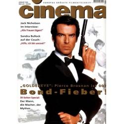 CINEMA 1/96 Januar 1996 - Bond-Fieber!