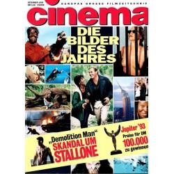 CINEMA 12/93 Dezember 1993 - Die Bilder des Jahres