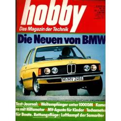 Hobby Nr.16 / 30 Juli 1975 - Die neuen von BMW