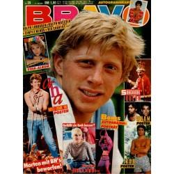 BRAVO Nr.29 / 11 Juli 1986 - Tennisspieler Boris Becker