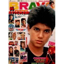 BRAVO Nr.41 / 2 Oktober 1986 - Ralph Macchio