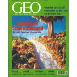 Geo Nr. 6 / Juni 1998 - Experiment Schlaraffenland