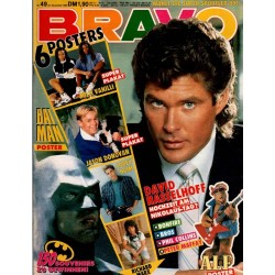 BRAVO Nr.49 / 30 November 1989 - David Hasselhoff