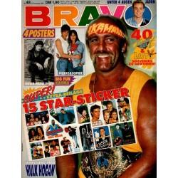 BRAVO Nr.48 / 23 November 1989 - Hulk Hogan