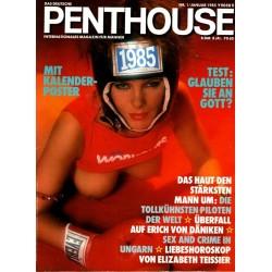Penthouse Nr.1 / Januar 1985 - Rebecca Hill
