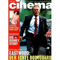 CINEMA 11/93 November 1993 - Clint Eastwood
