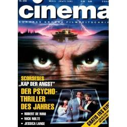 CINEMA 3/92 März 1992 - Scorseses Kap der Angst