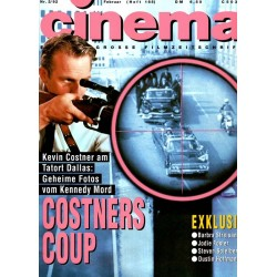 CINEMA 2/92 Februar 1992 - Costners Coup