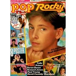 pop Rocky Nr.7 / 1985 - Schulbesuch bei Noah Hathaway