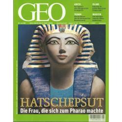 Geo Nr. 7 / Juli 2002 - Hatschepsut