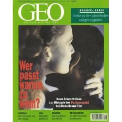 Geo Nr. 8 / August 2000 - Wer passt warum zu wem?