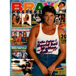 BRAVO Nr.40 / 27 Sept. 1990 - David Hasselhoff bei Wetten daß