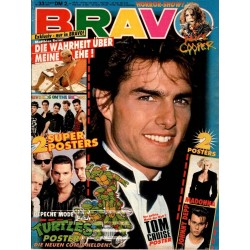 BRAVO Nr.33 / 9 August 1990 - Tom Cruise, der geilste Mann?