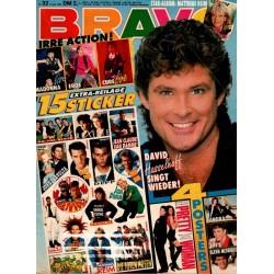 BRAVO Nr.32 / 2 August 1990 - David Hasselhoff singt wieder!
