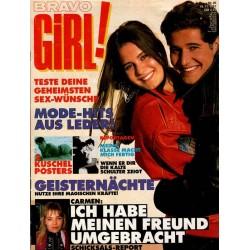 Bravo Girl Nr.25 / 19 November 1991 - Mode Hits aus Leder