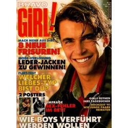 Bravo Girl Nr.24 / 6 November 1991 - 8 neue Frisuren