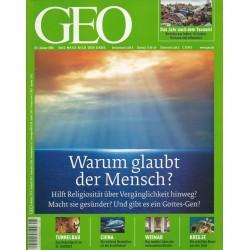 Geo Nr. 1 / Januar 2006 - Warum glaubt der Mensch?
