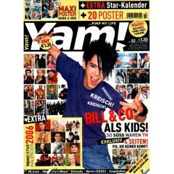 Yam! Nr.2 / 4 Januar 2006 - Bill Kaulitz & Co.