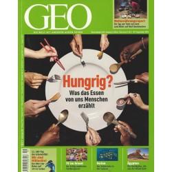 Geo Nr. 9 / September 2010 - Hungrig?
