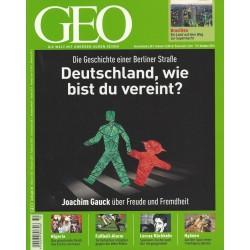 Geo Nr. 10 / Oktober 2010 - Deutschland, wie bist du vereint?
