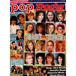 pop Rocky Nr.9 / April 1985 - Supergirls